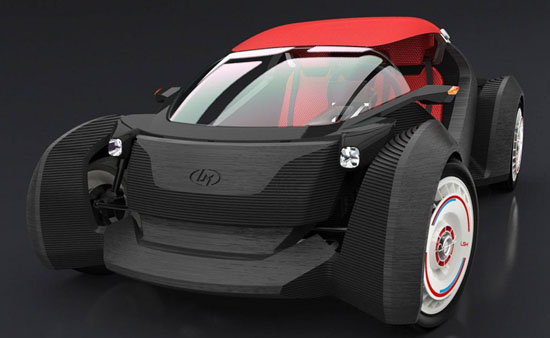 3D Printed Car Manufactured